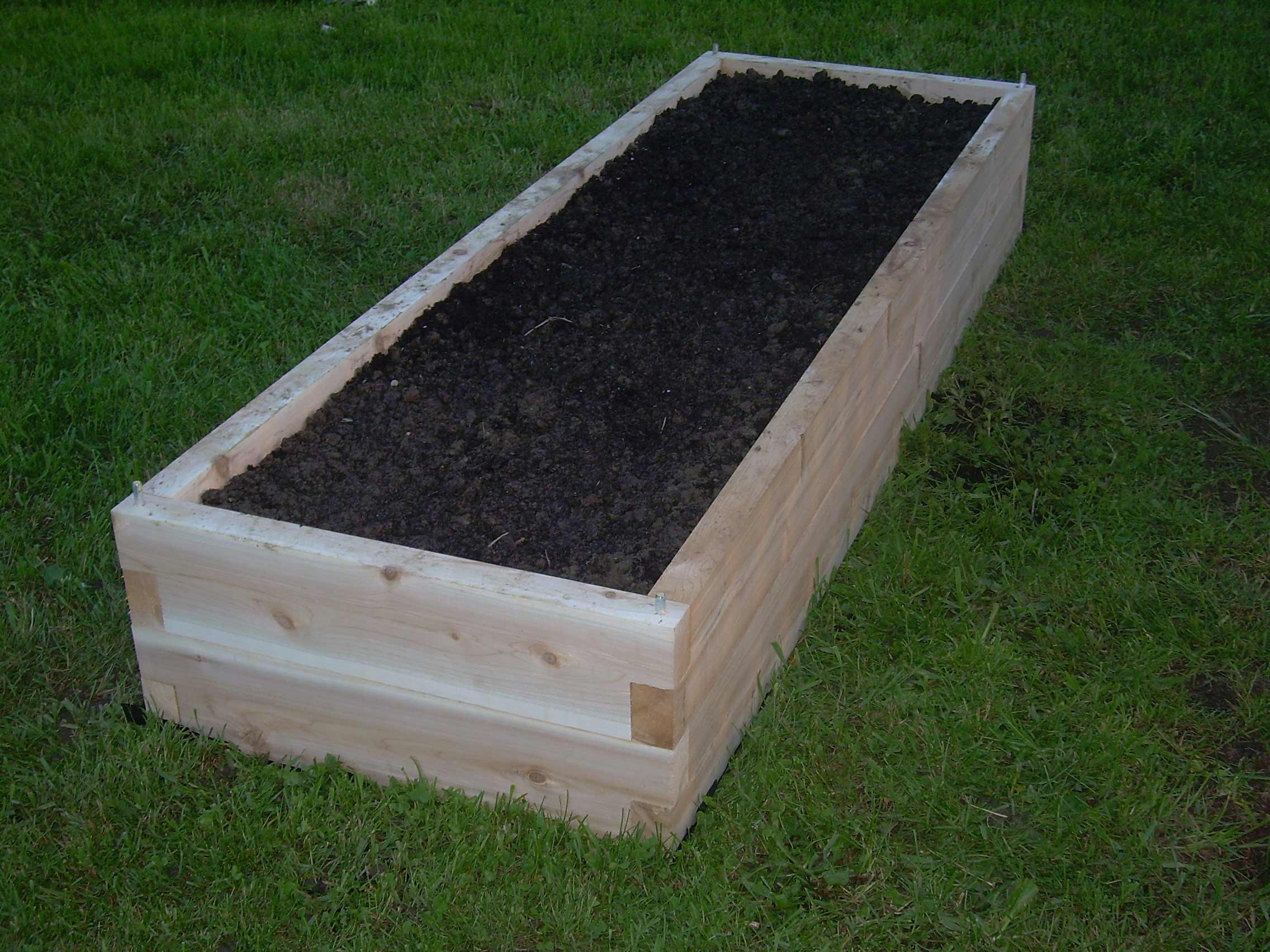 Raised bed garden kits home depot terrasse en bois Raised garden beds